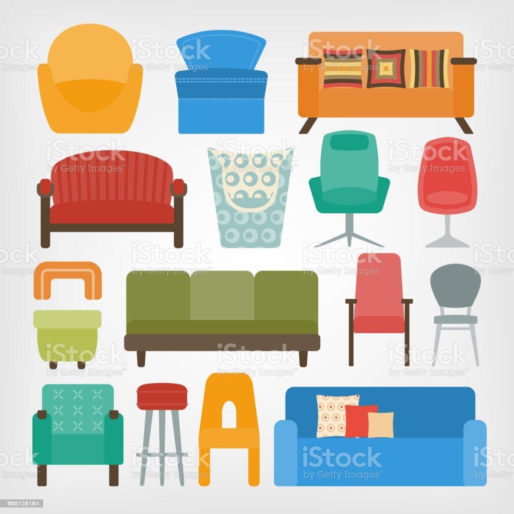 Retro Stühle 70er