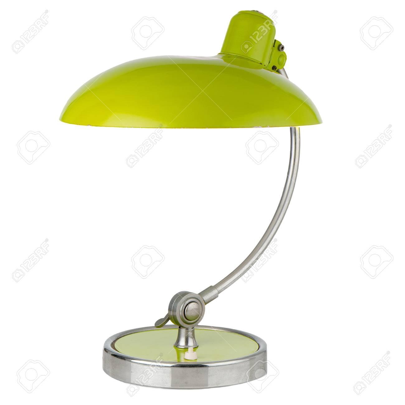 Retro Tischlampe Grün