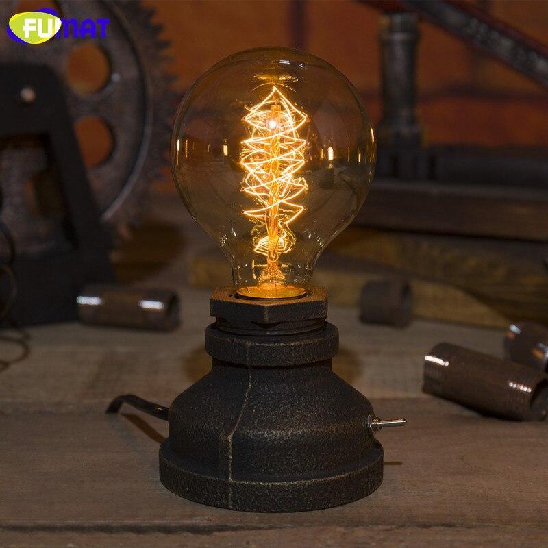 Retro Tischlampe Metall