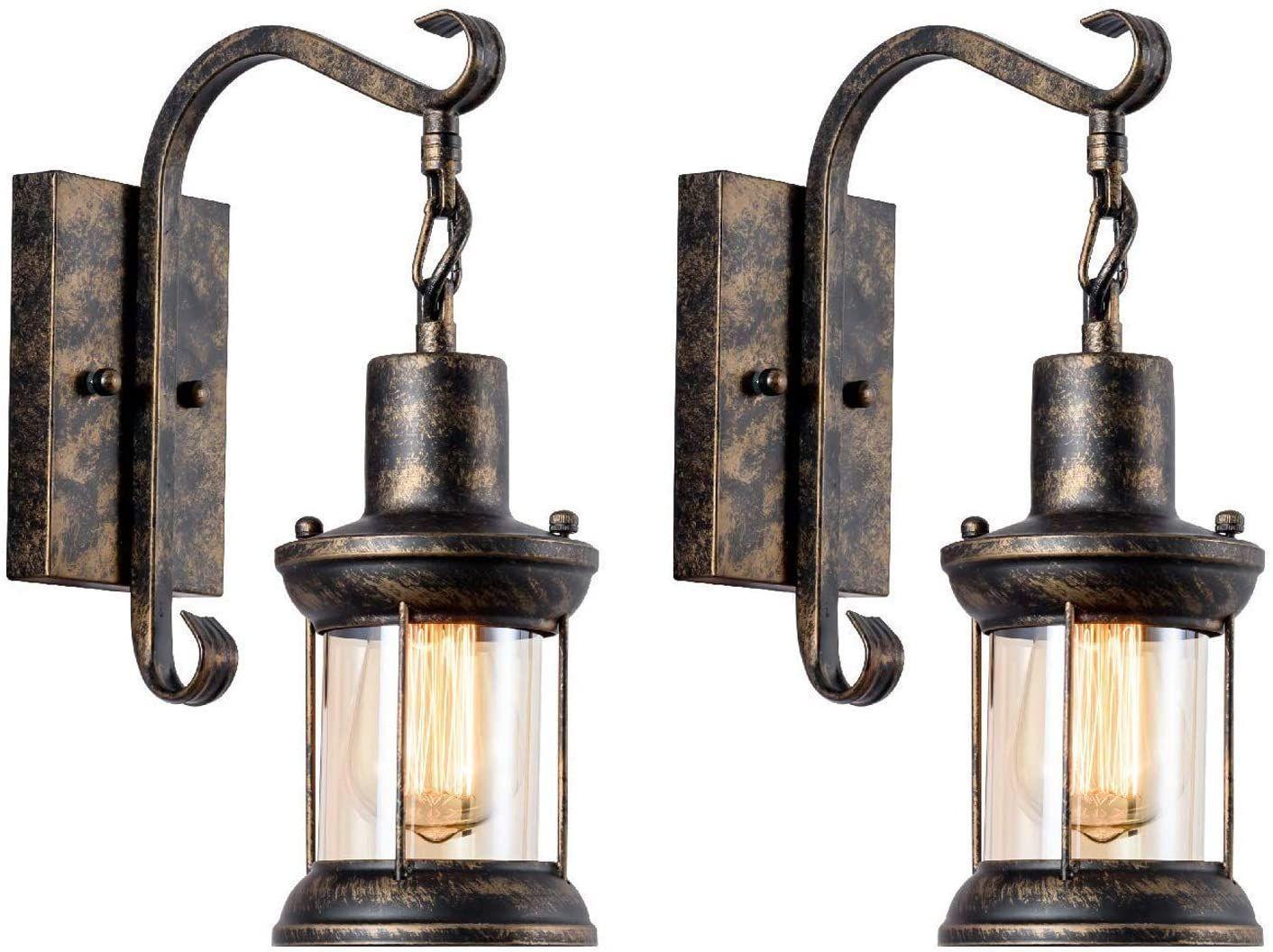 Retro Wandlampe Innen