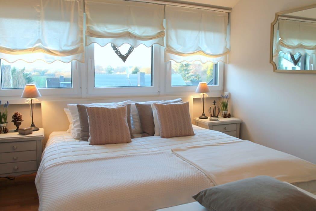 Romantisches Schlafzimmer Landhausstil