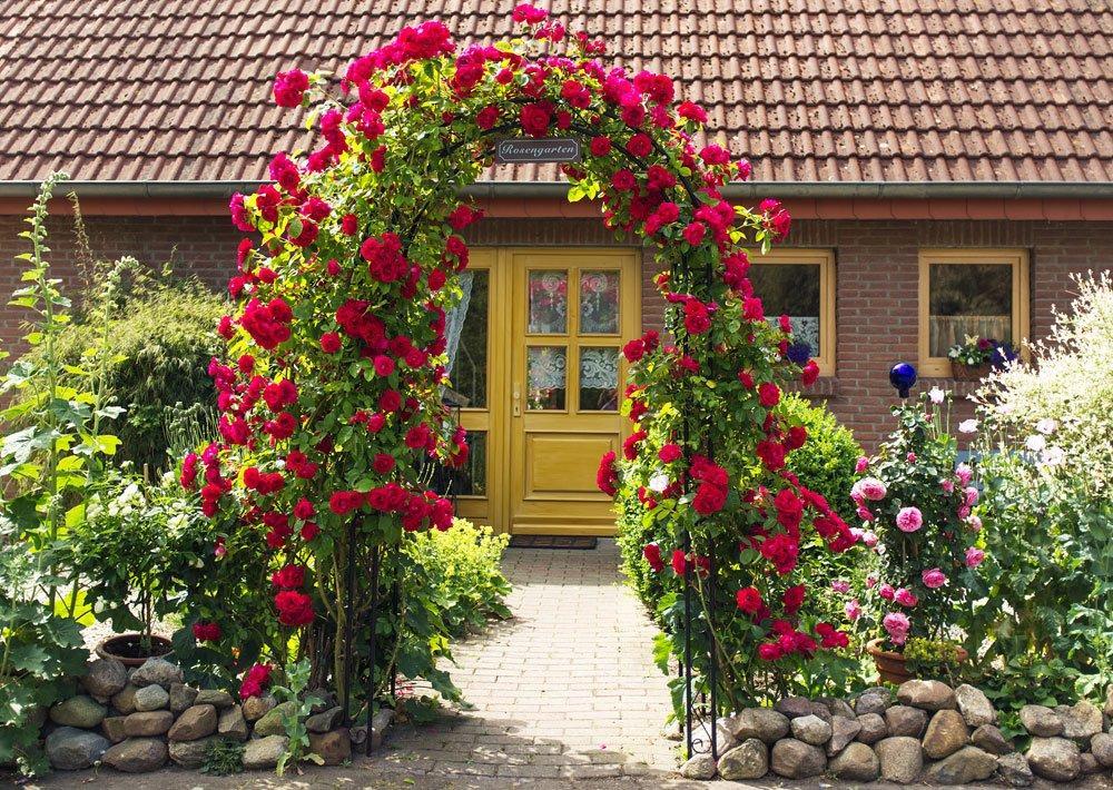 Rosenbogen Aus Holz Selber Bauen