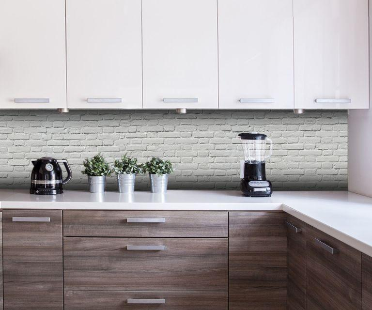 Rückwand Küche Steinoptik