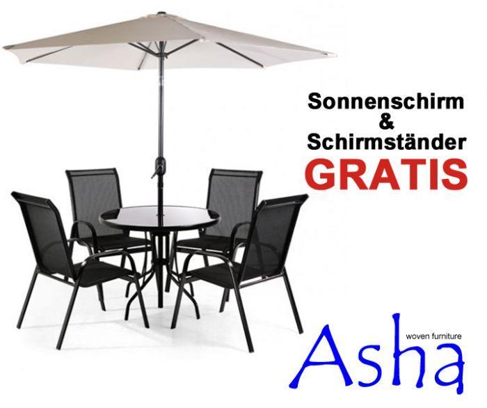 Runder Gartentisch Mit Stühlen