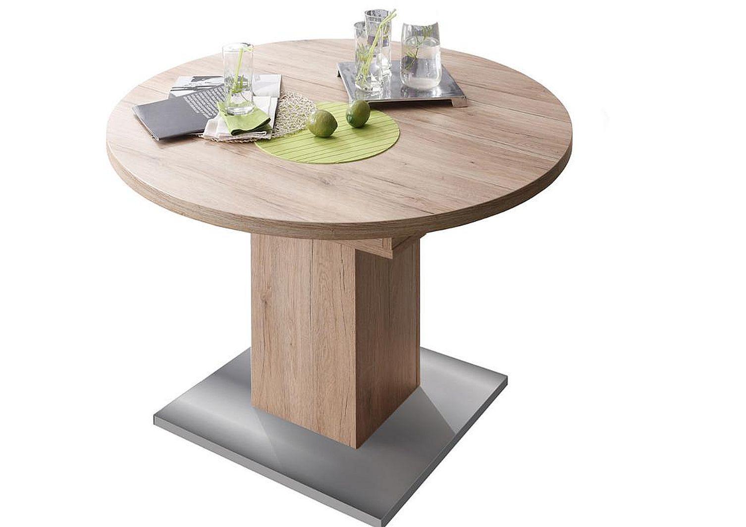 Runder Tisch Mit 4 Stühlen Platzsparend