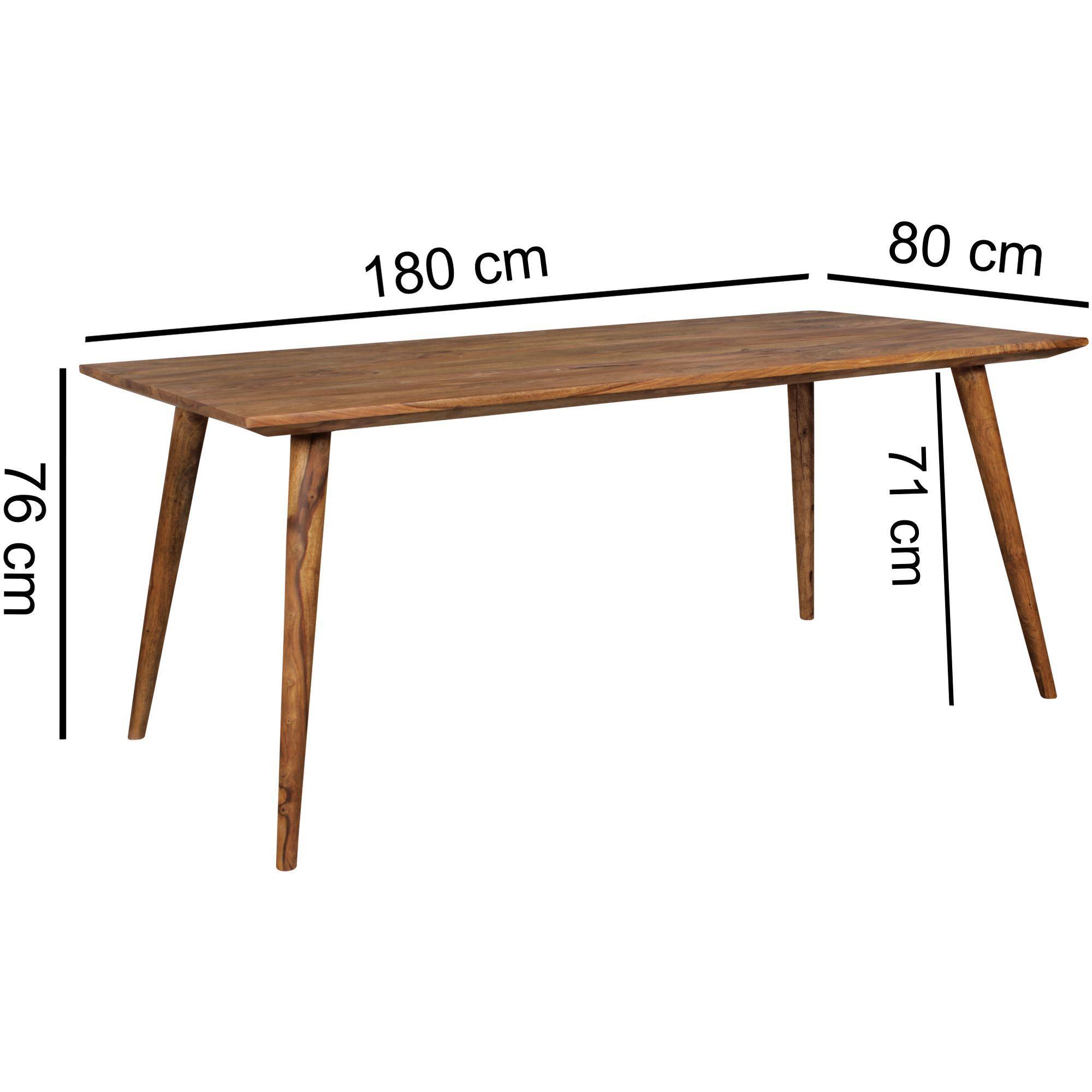 Rustikal Landhausstil Esstisch Holz