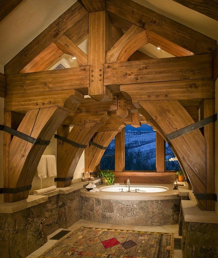 Rustikales Badezimmer Möbel