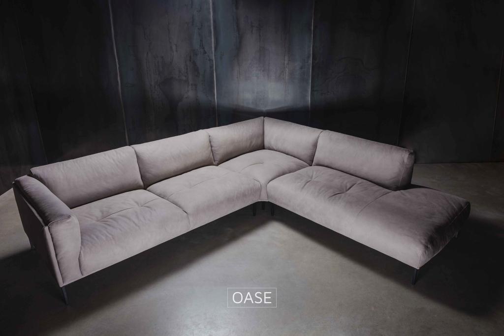 Samt Sofa Wohnlandschaft