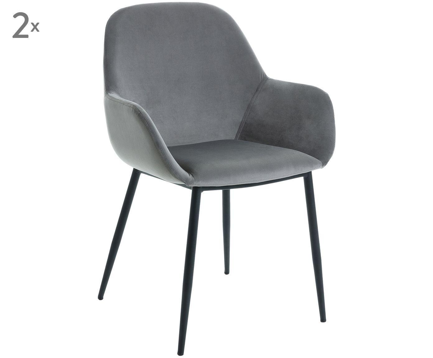 Samt Stuhl Mit Lehne