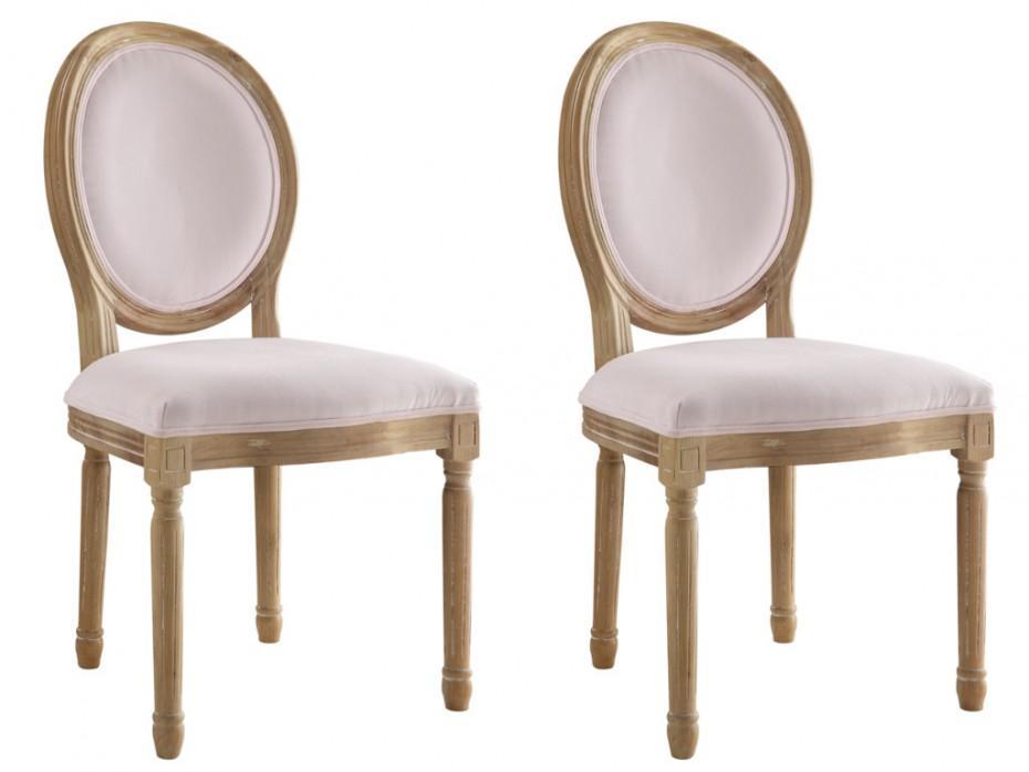 Samt Stühle Rosa