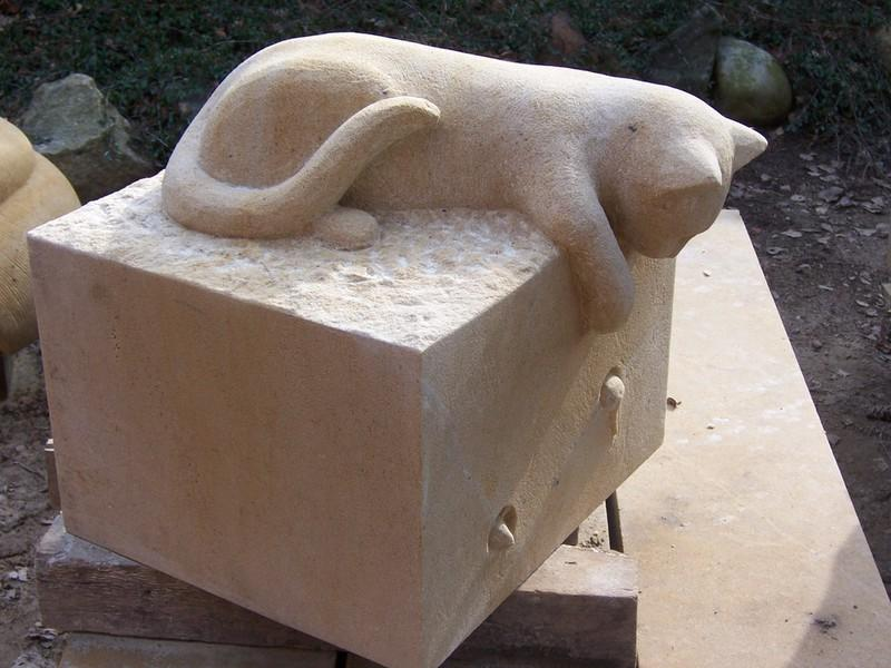 Sandstein Skulpturen Für Den Garten