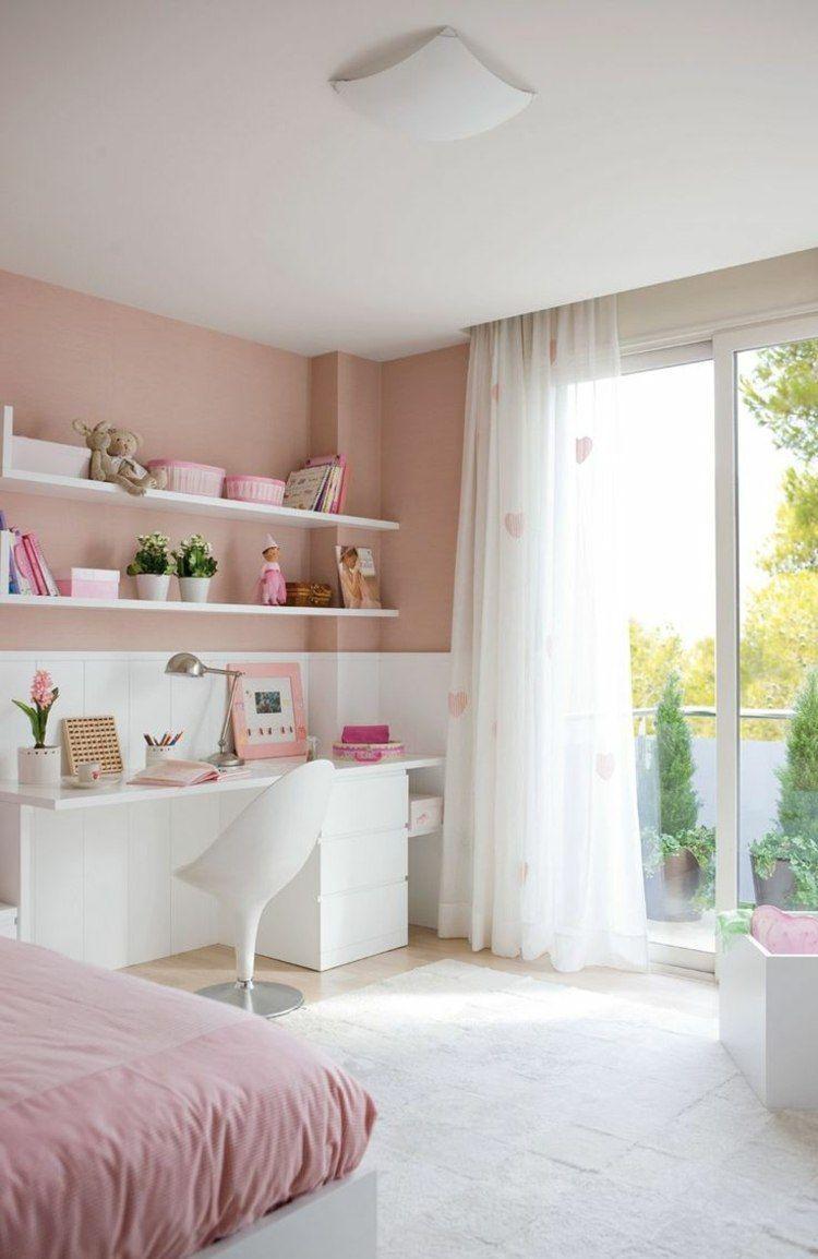 Schlafzimmer Altrosa Weiß