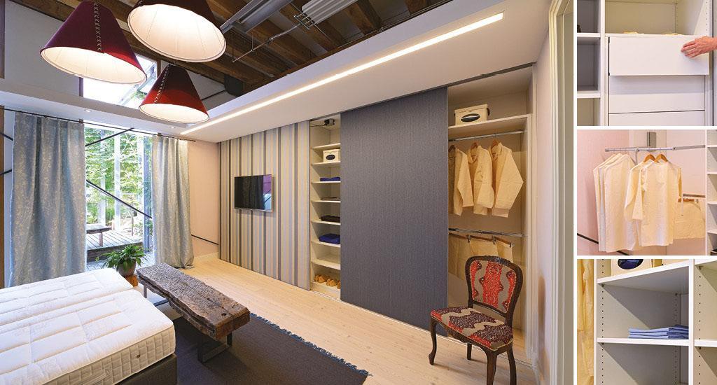 Schlafzimmer Begehbare Kleiderschränke