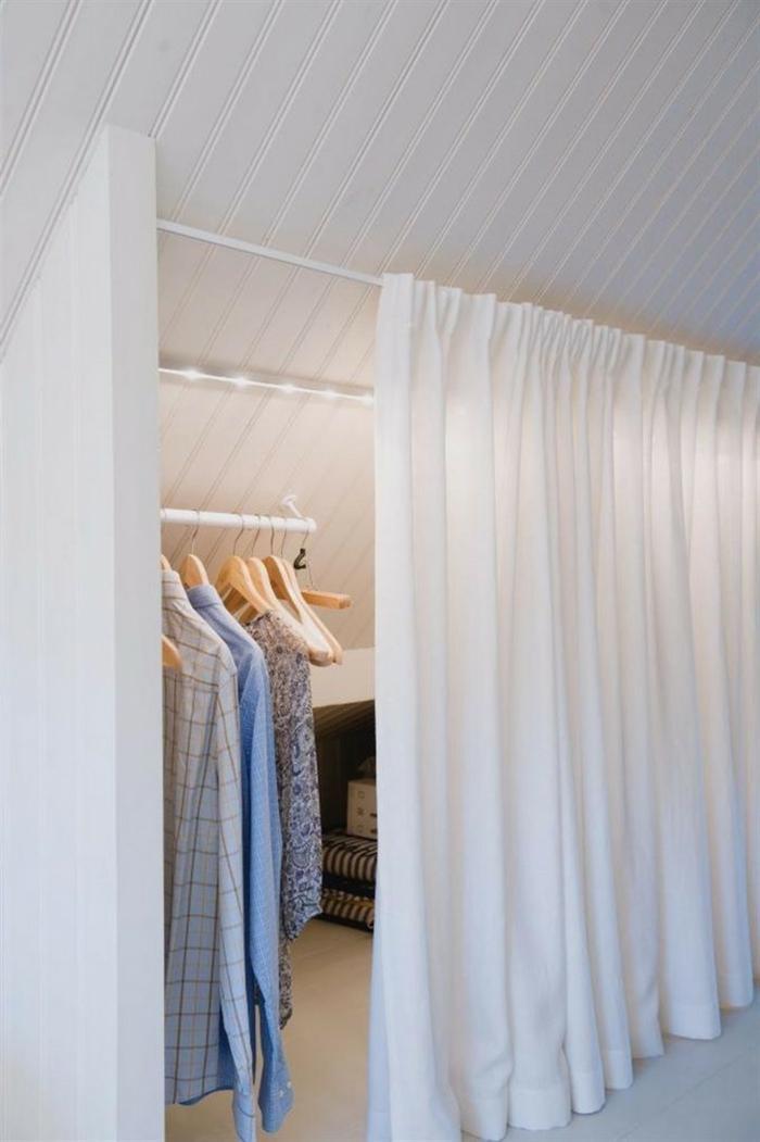 Schlafzimmer Begehbarer Kleiderschrank Dachschräge