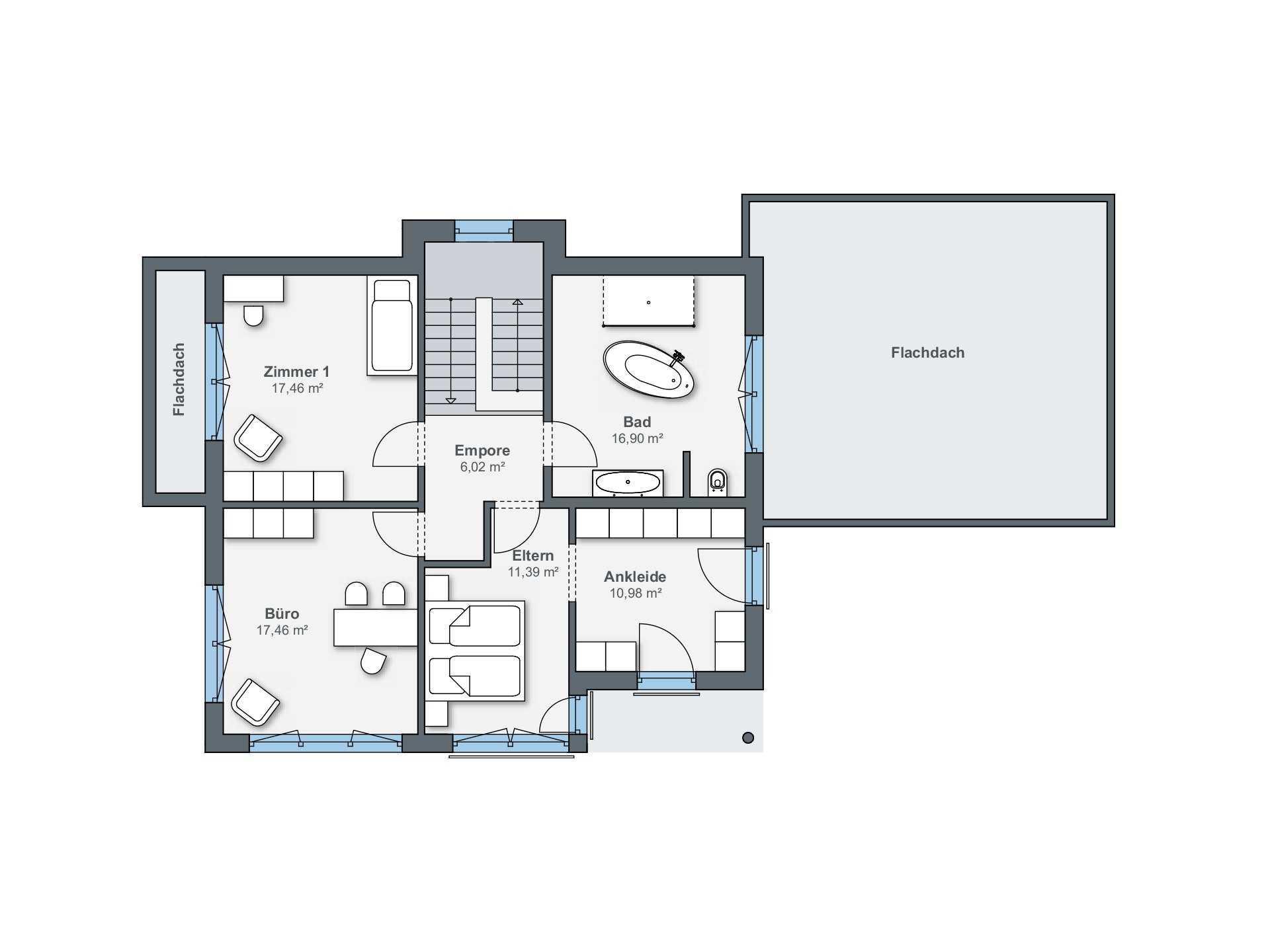 Schlafzimmer Begehbarer Kleiderschrank Grundriss