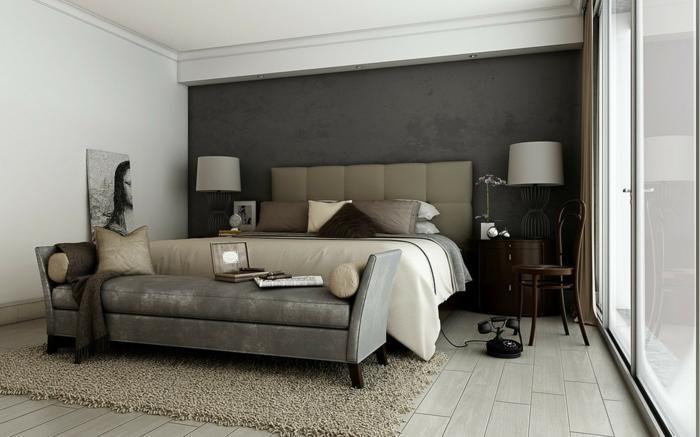 Schlafzimmer Beige Grau