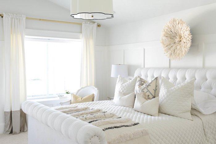 Schlafzimmer Beige Weiß