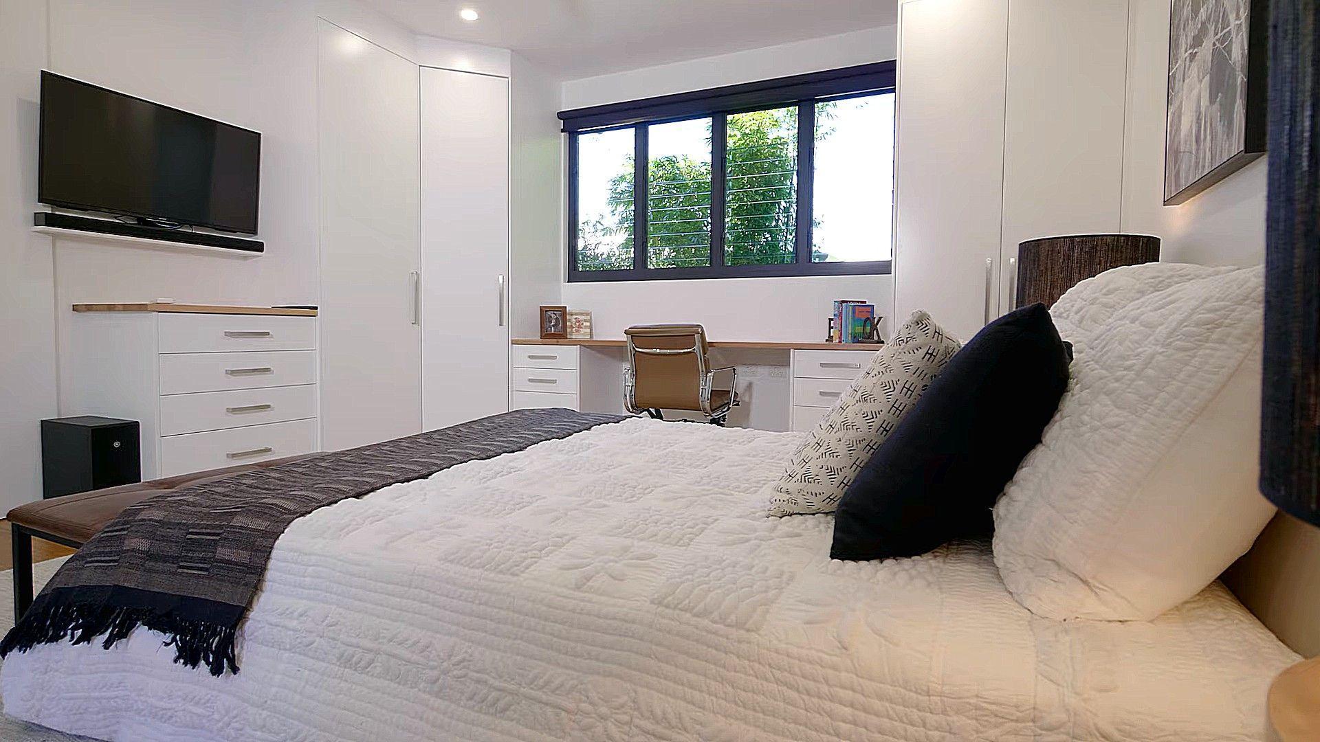 Schlafzimmer Bett Dekorieren