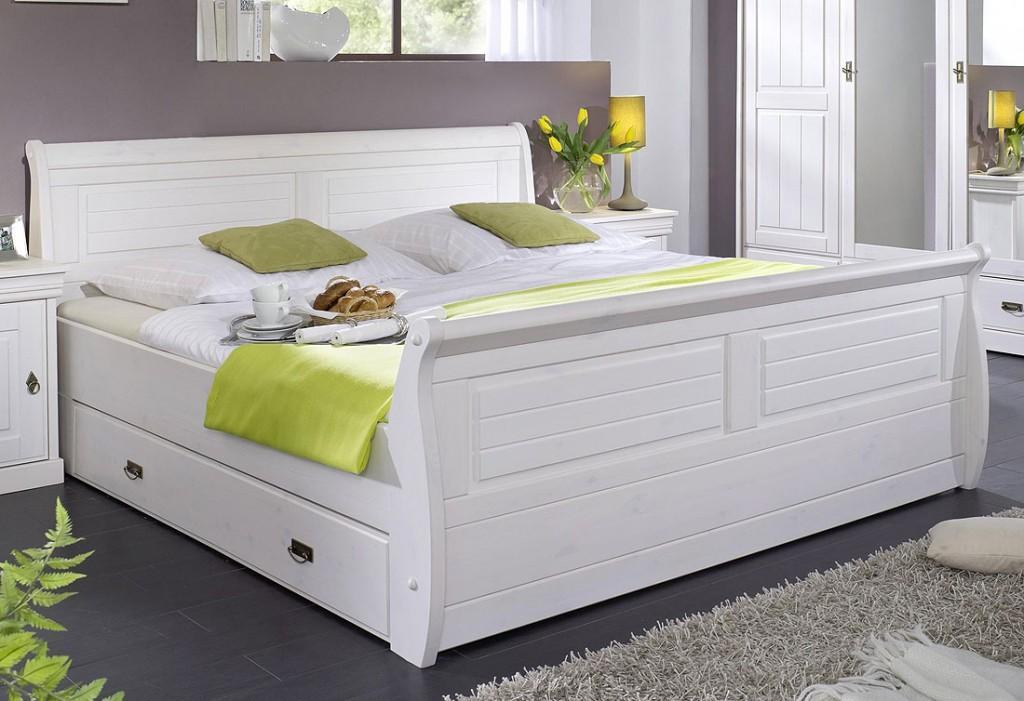 Schlafzimmer Bett Weiß