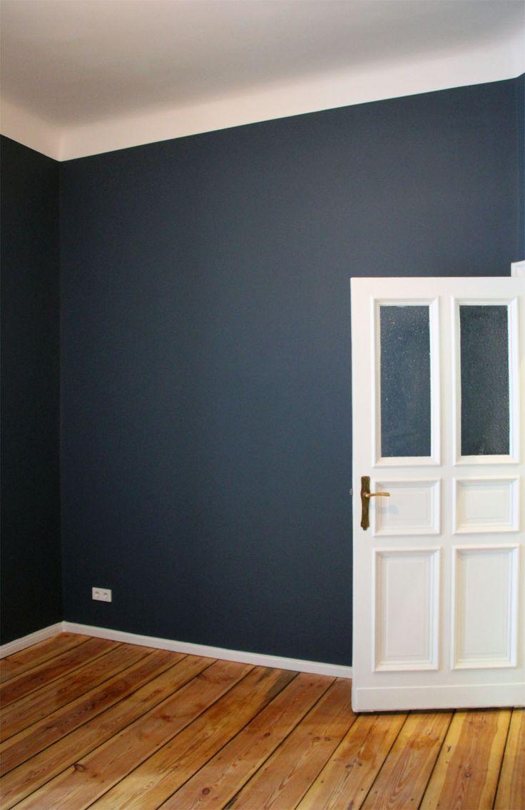Schlafzimmer Blau Holz