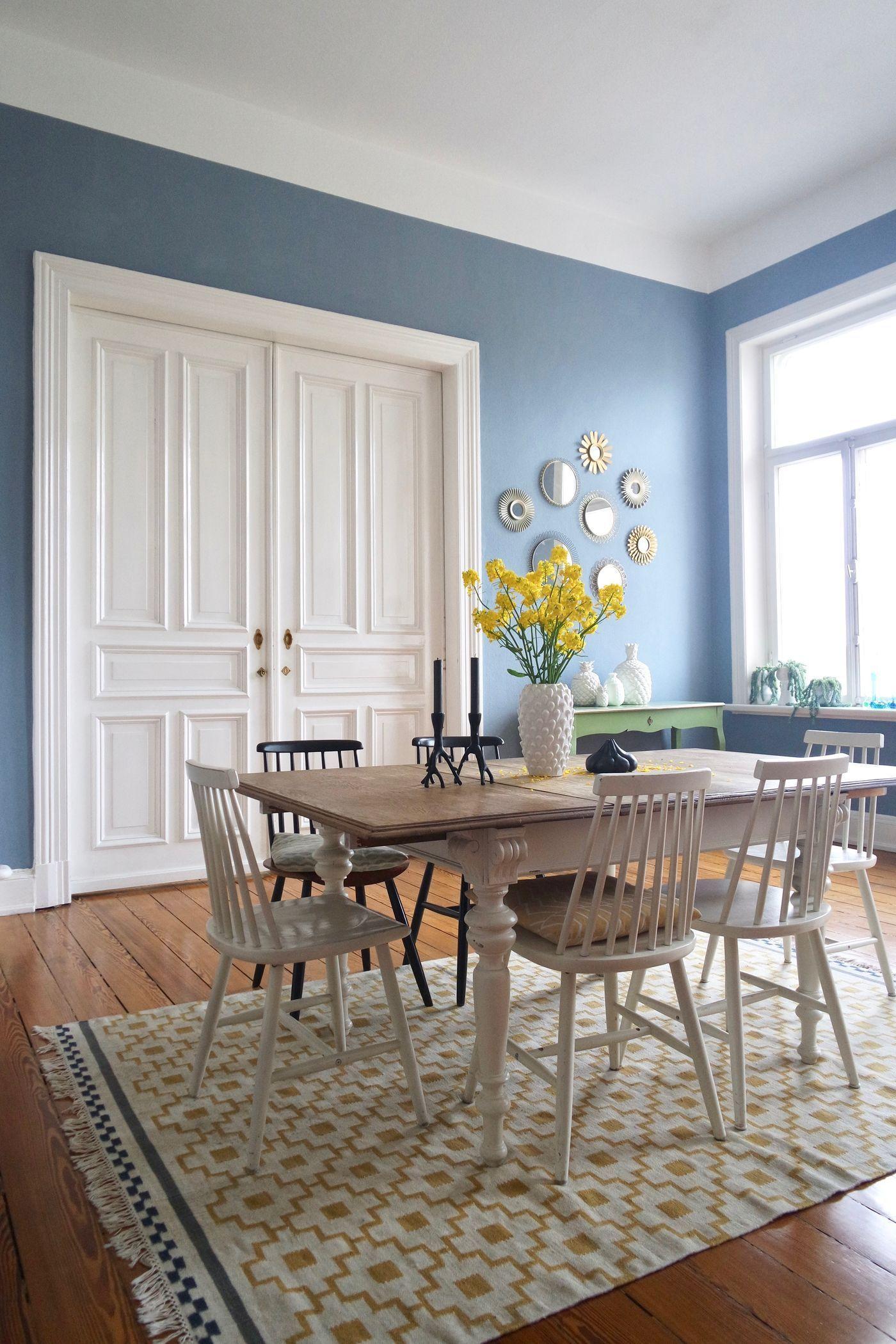Schlafzimmer Blau Streichen
