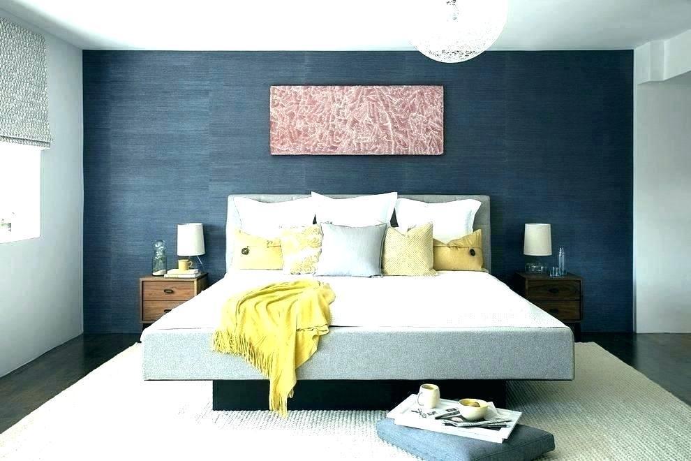 Schlafzimmer Dunkelblaue Wand