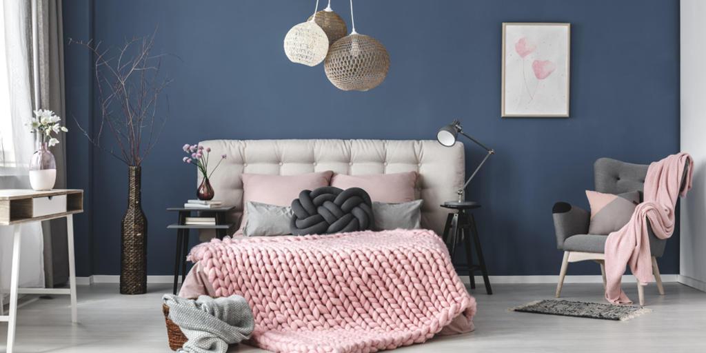 Schlafzimmer Dunkelgrün Weiß
