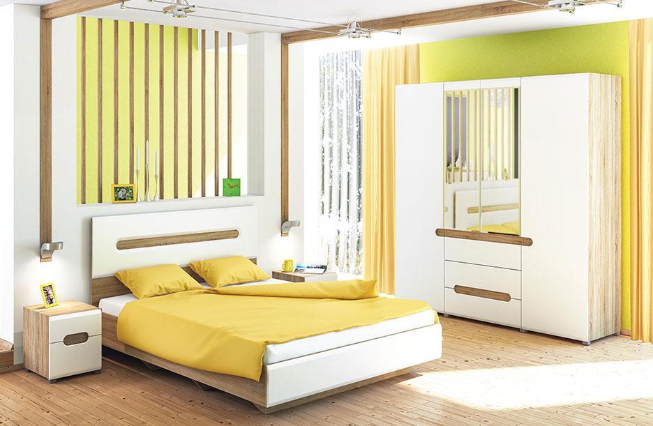 Schlafzimmer Eiche Sonoma