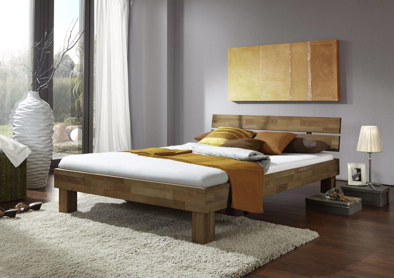 Schlafzimmer Eiche Teilmassiv