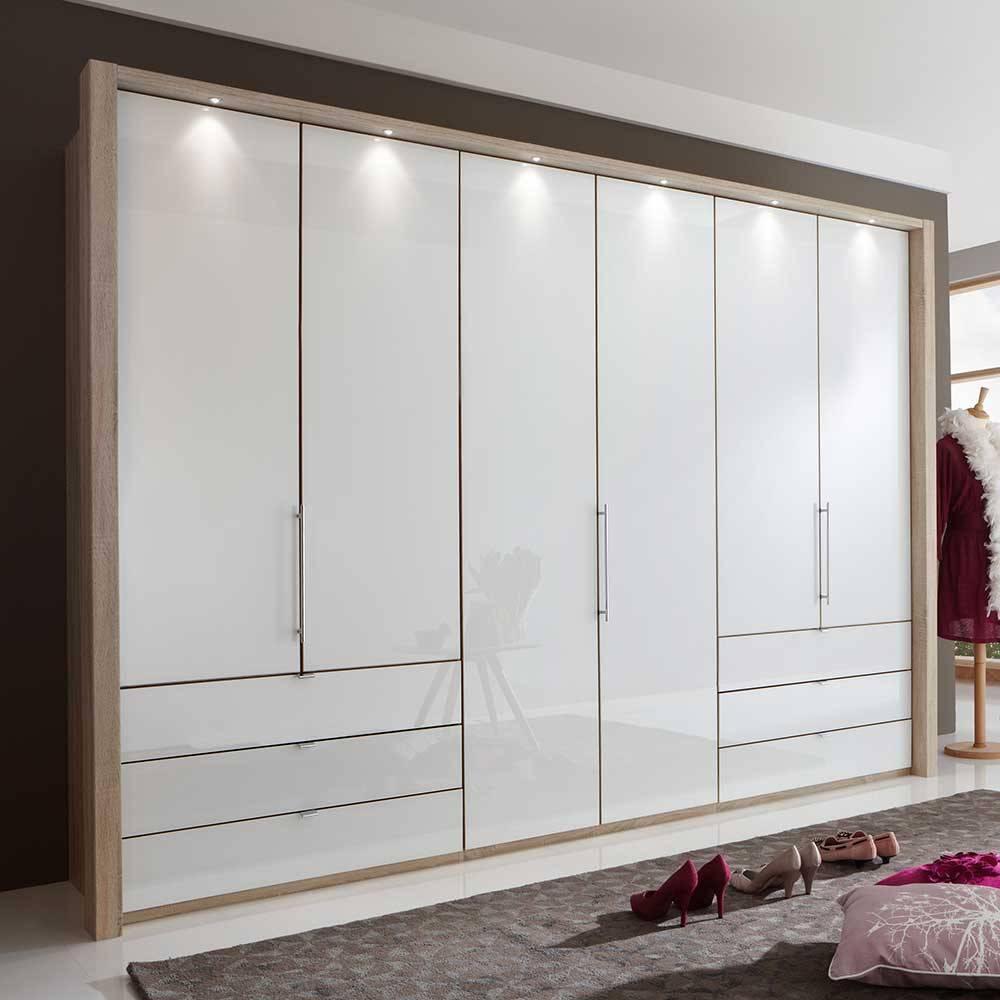 Schlafzimmer Eiche Weiß