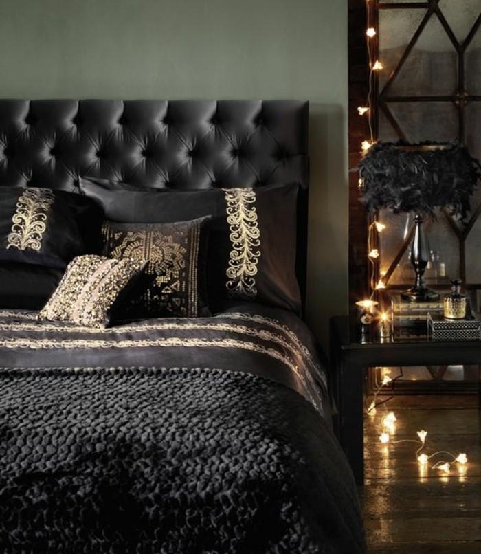 Schlafzimmer Gold Deko