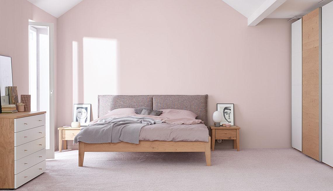 Schlafzimmer Hellgrau Wandfarbe