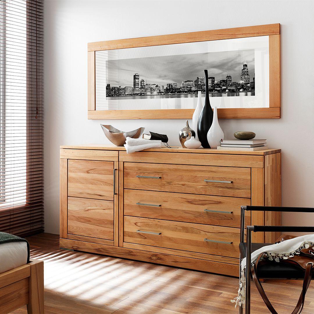 Schlafzimmer Highboard Holz