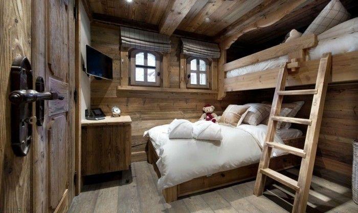Schlafzimmer Holz Landhaus