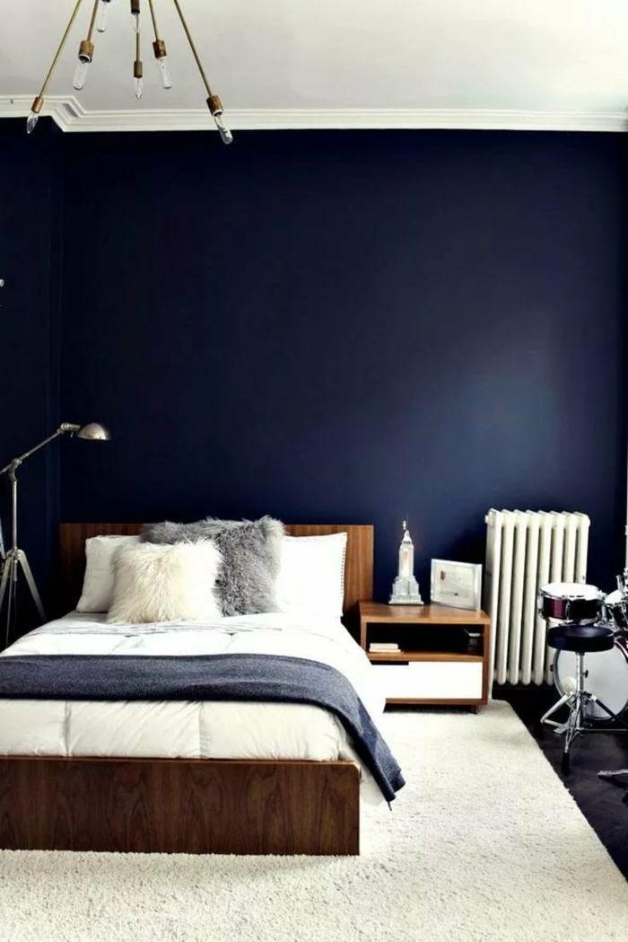 Schlafzimmer Ideen Blau Grau