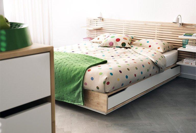 Schlafzimmer Ideen Ikea Bett