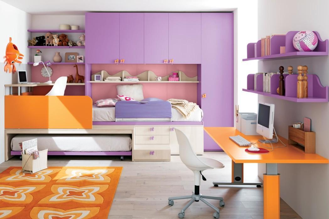 Schlafzimmer Lila Wand