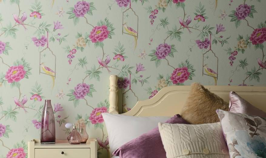 Schlafzimmer Luxus Tapeten