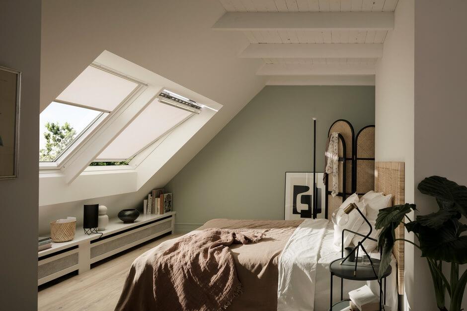 Schlafzimmer Mit Schrägen