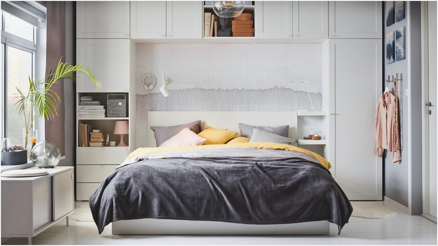 Schlafzimmer Mit überbau Schrank