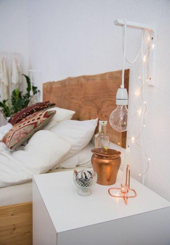 Schlafzimmer Nachttischlampe Wand