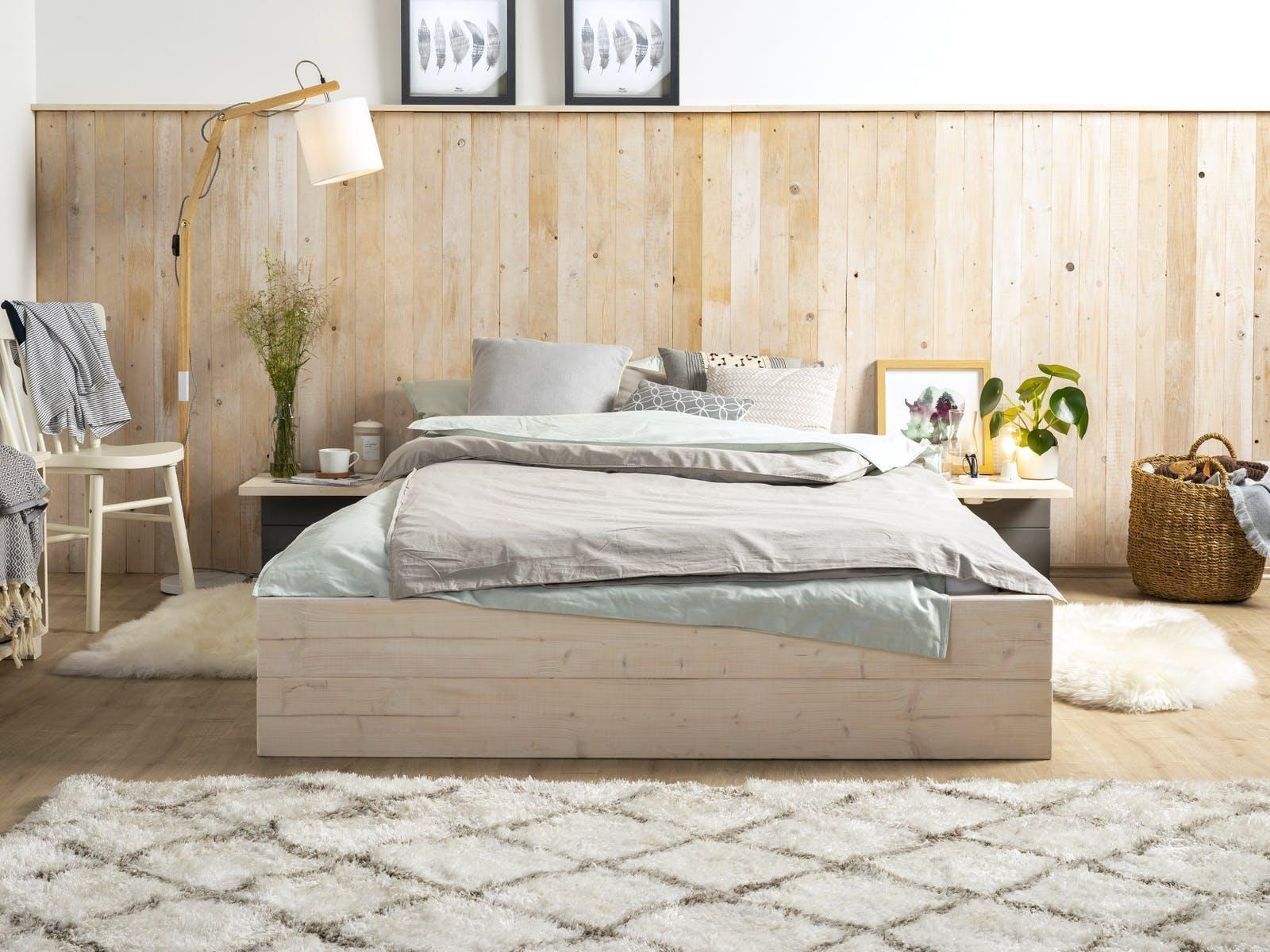 Schlafzimmer Regal Selber Bauen