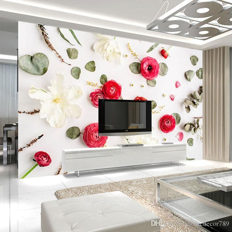 Schlafzimmer Romantische 3d Tapete