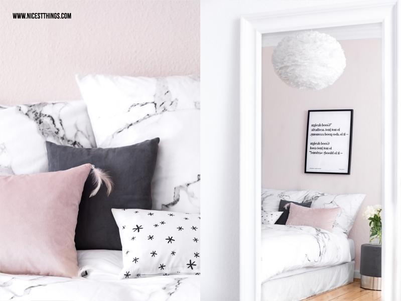 Schlafzimmer Rosa Grau Weiß