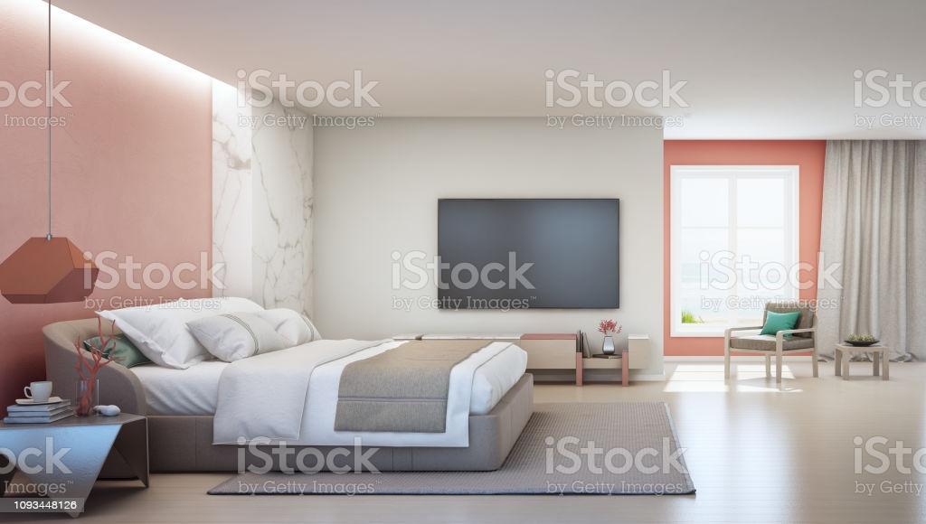 Schlafzimmer Rosa Wand