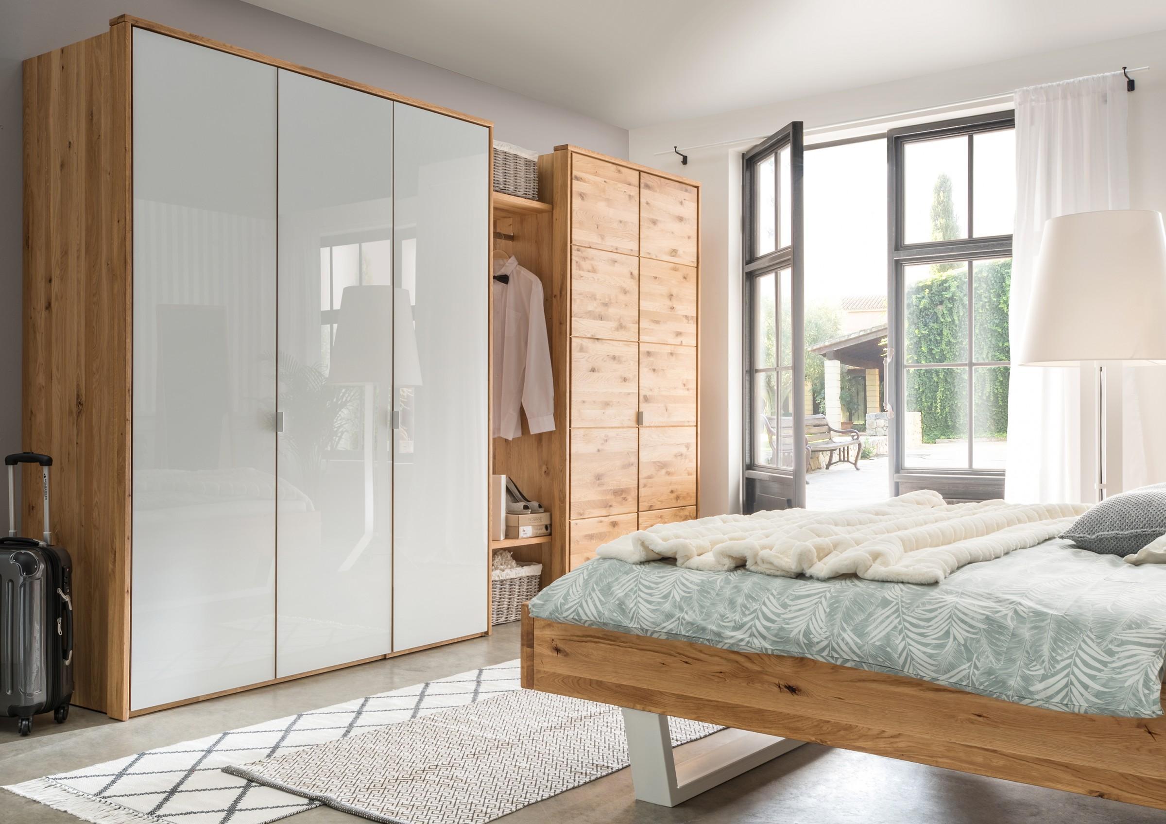 Schlafzimmer Schrank Weiß Holz