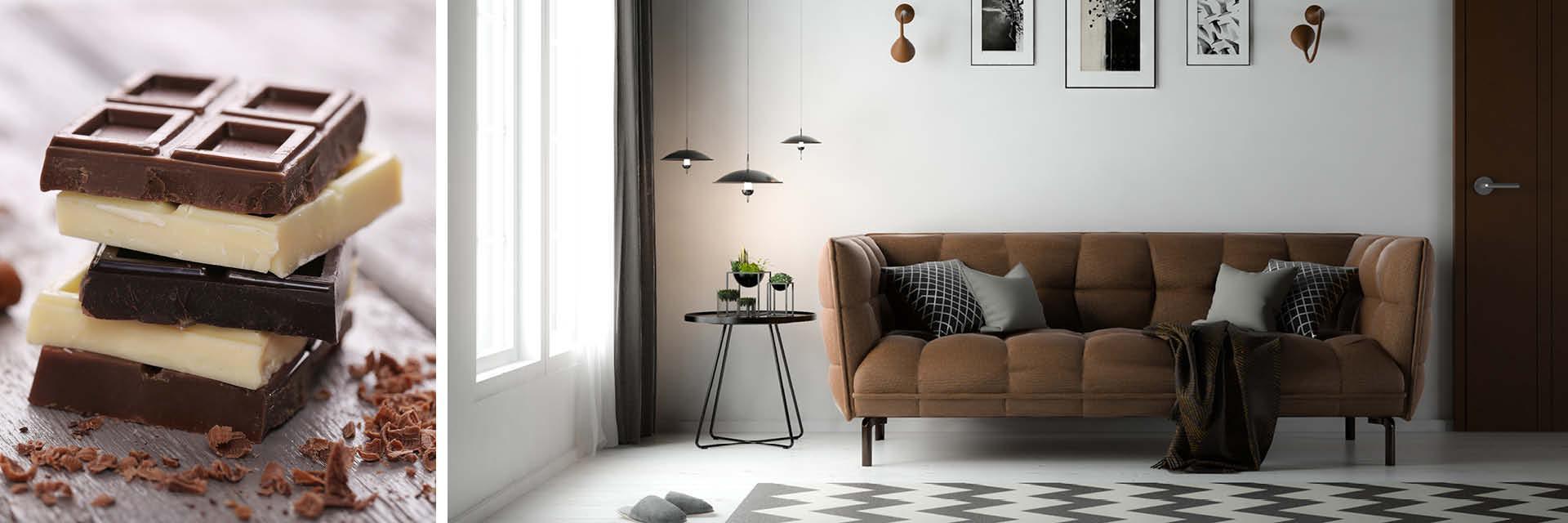 Schlafzimmer Schwarz Weiß Braun