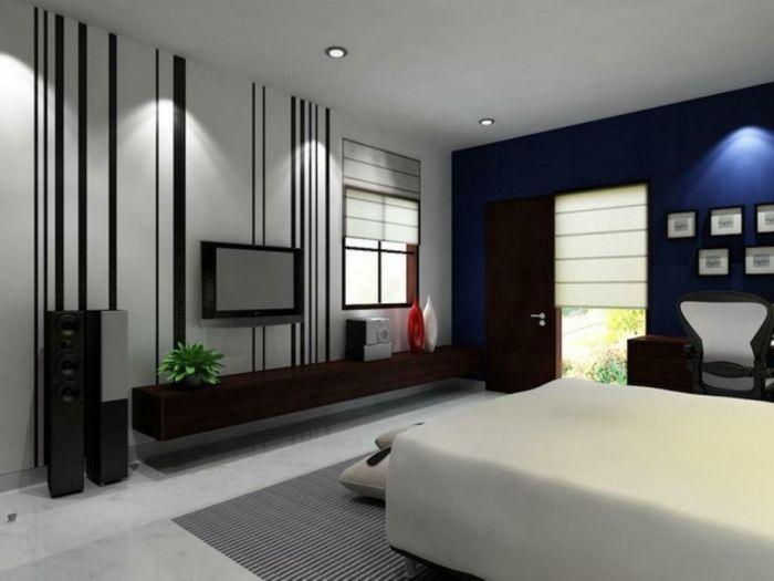 Schlafzimmer Schwarz Weiß Gestalten