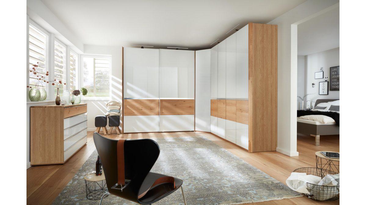 Schlafzimmer Schwarz Weiß Holz