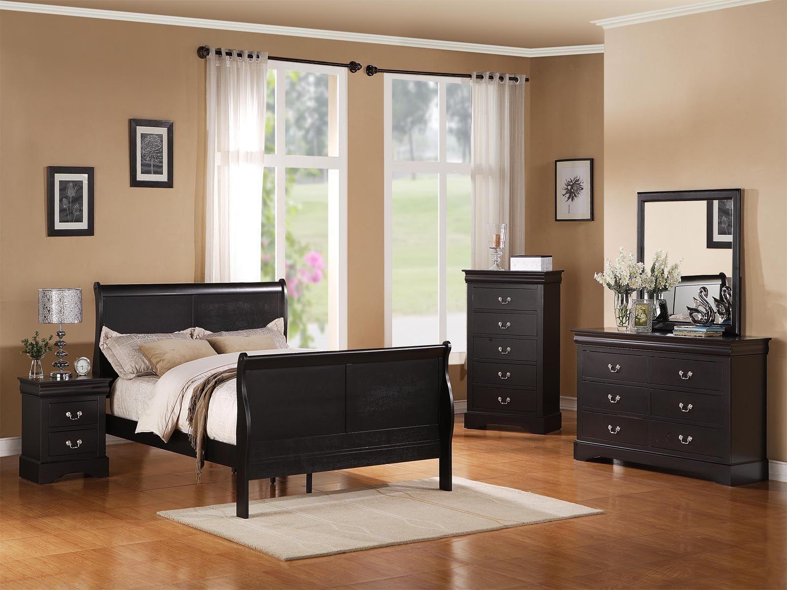 Schlafzimmer Schwarze Möbel